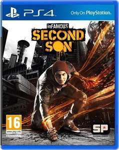 Infamous second son PS4 £6 in store CEX