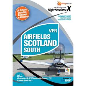VFR Airfields Scotland South - FSX Scenery - FlightsimStore - LOADS of other £1 offers. 97% off. +£3.95 Delivery @ FlightStore