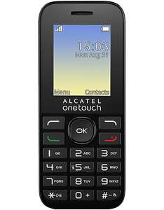 FREE Alcatel 10.16G with o2 £10 top up @ Carphonewarehouse