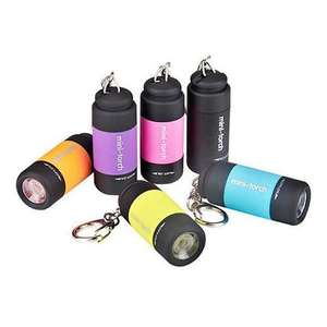 Mini Highlight Flashlight Pocket Torch - 3 colours - 99p each delivered w/code @ Geekbuying