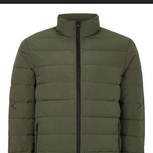Topman Khaki Quilted Jacket £17.50 or £14 with code Free c&c
