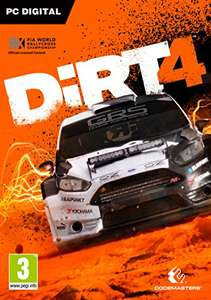 DiRT 4 (Steam) £17.99 @ Amazon