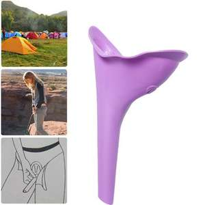 IPRee® Portable Female Urinal Toilet Soft Silicone Travel Stand Up Pee Device Funnel 81p Del @ Banggood (secret santa / stocking filler / useful funnel?)