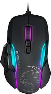 Roccat Kone AIMO RGBA Smart Customisation Gaming Mouse - Black - £48.99 @ Amazon