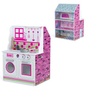 Plum 2 In 1 Wooden Kitchen / Dolls House now £40 @ Tesco Direct