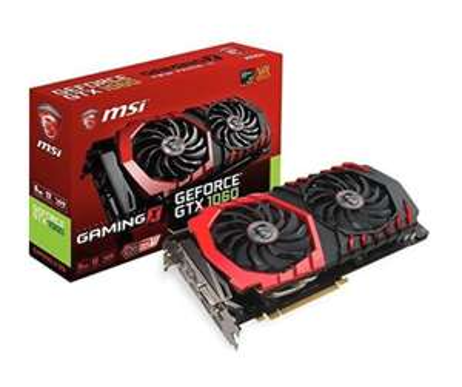 MSI NVIDIA GeForce GTX 1060 GAMING X 6GB £249.99 - Amazon Pre-order
