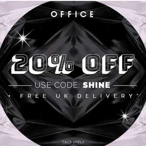 BLACK FRIDAY! @ OFFICE 20% OFF EVERYTHING plus FREE DELIVERY!