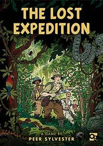 The Lost Expedition board game £9.91 + £2.80 delivery Dispatched from and sold by BOOKS etc - Amazon