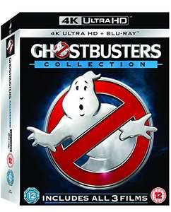 Ghostbusters - 1-3 Collection (6-Disc 4K Ultra HD + Blu-ray) [2016] [Region Free] @ Amazon UK