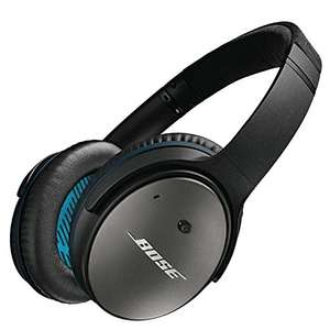 Bose QuietComfort 25 Acoustic Around-Ear Noise Cancelling Headphones for Apple Devices - Black Friday £159 Amazon