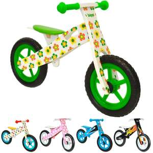 Amazon Warehouse Deals Open Box Boppi Balance Bikes Metal / Wooden from £17.44 delivered