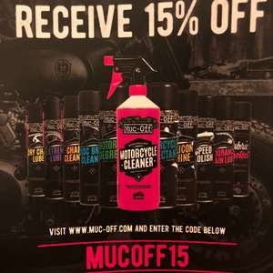 15% off at Mucoff official site