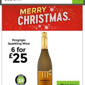 heads up! 6 x Prosecco for £25 in Asda  (Online & instore)