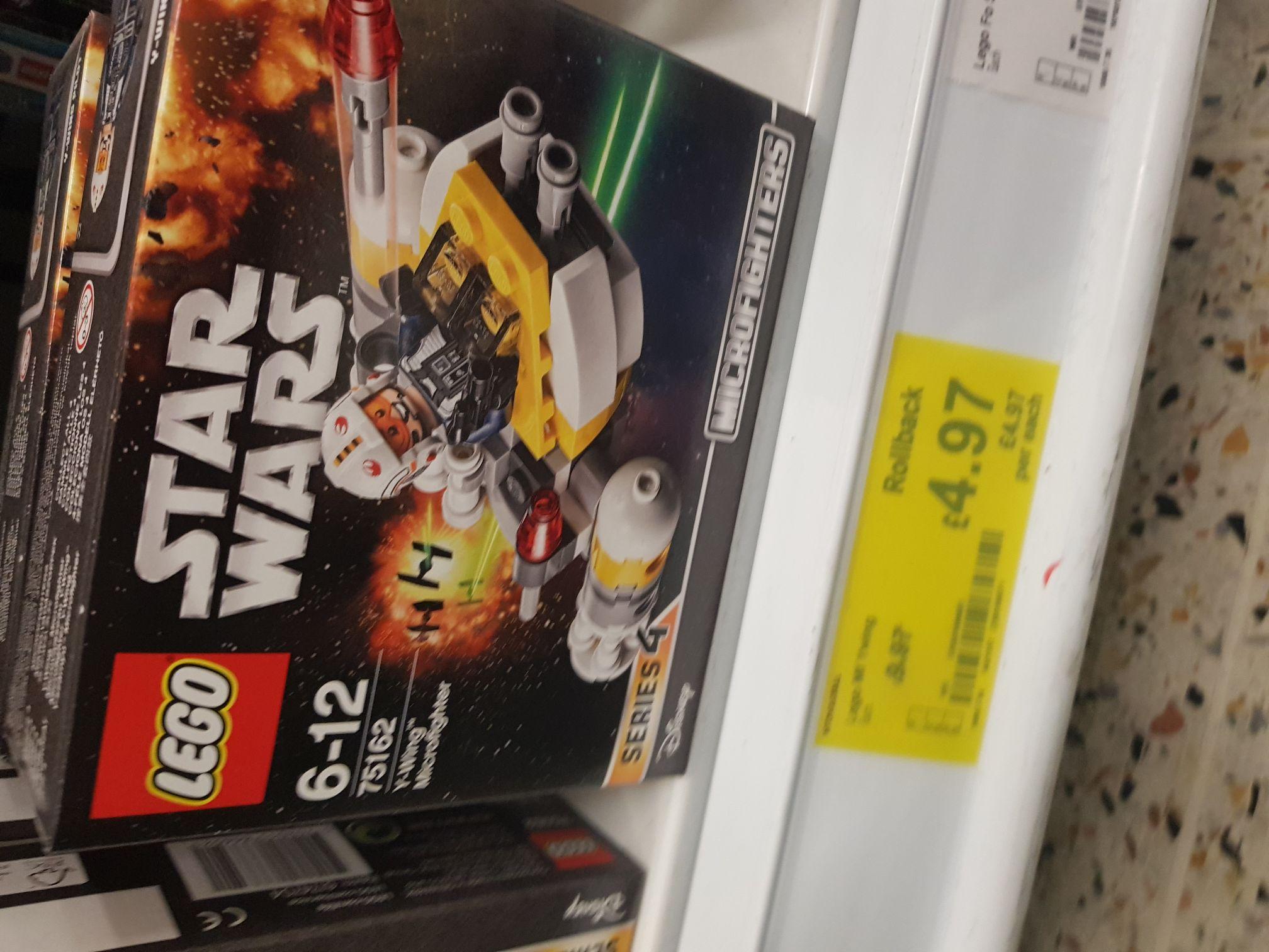 Lego Y-Wing Microfigure £4.97 instore @ Asda