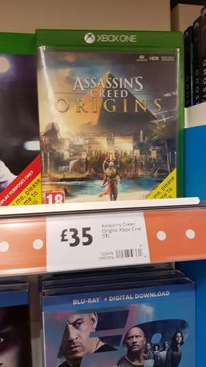 Assasins creed origins xb1 £35 @morisons.