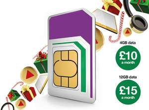 100 GB, unlimited minutes and unlimited texts - £20 a month - 12 month contract - Three Mobile