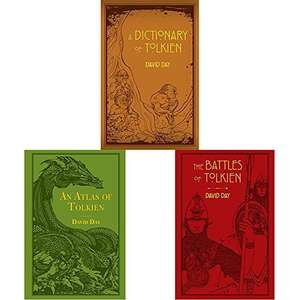 Bundle of 3 books by David Day about Tolkien's Lord of the Rings. Just £12 for Prime customers (normal price £22.09)