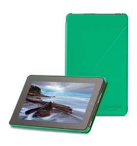 "Amazon Fire Case  - 7"" Tablet, 5th Generation, Green. Was £19.90 Now £4.99 (prime) @ amazon"