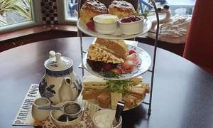Traditional afternoon tea centre Birmingham - The Coffee Factory £13 @ Groupon