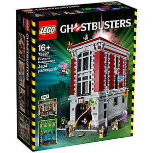 LEGO Ghostbusters 75827 Firehouse Headquarters £242.24 @ John Lewis