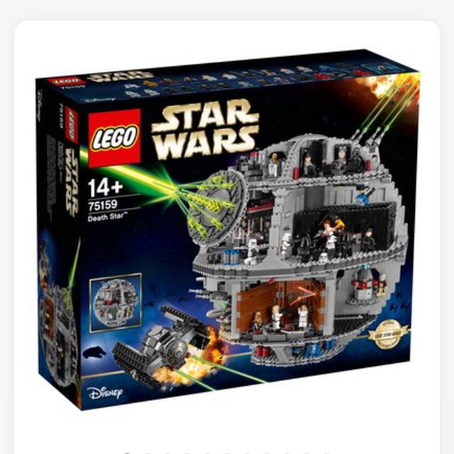 Lego Star Wars Death Star £287.99 with voucher at Smyths save £112