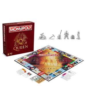 Monopoly - Queen Edition  Now £20.39 delivered @ IWOOT