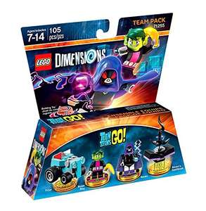 Teen Titans Go! Team Pack £14.85 with prime @ Amazon