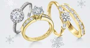 Upto 50% Off + Extra 25% Off Everything inc Sale Jewellery / Watches w/code @ Tru Diamonds