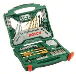 Bosch Titanium Drill and Screwdriver Set, 70 Pieces (£12.99 Prime)  / £17.74 (non Prime) @ Amazon