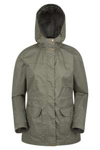 SHORE WATER-RESISTANT WOMENS JACKET Navy/Khaki £2.39 + £4.50 delivery
