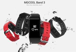 MGCOOL Band 3 Smartband IP68 Waterproof  -  RED or BLACK £11.45 @ GearBest