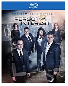 Person of Interest complete series blu ray £62 amazon.com/