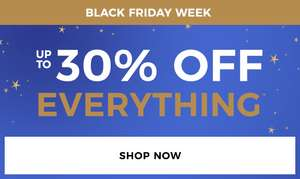 Up to 30% off everything @ Evans