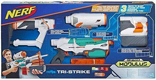 Nerf Tri-Strike reduced to £13.49 (Prime) / £18.24 (non Prime) at Amazon