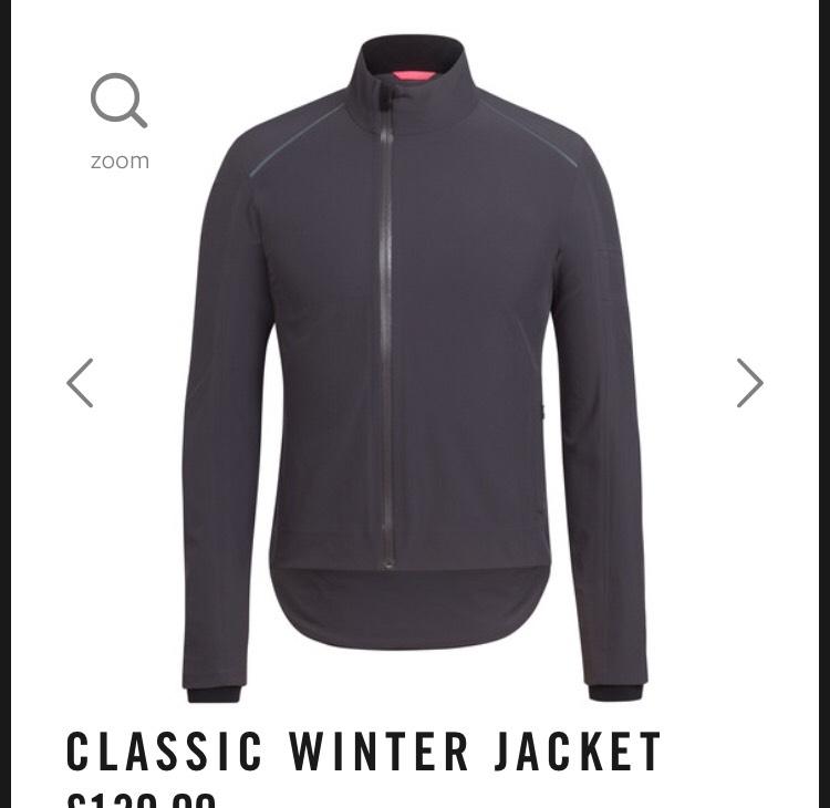 Rapha Classic Winter Jersey £130