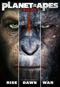 Planet of the Apes trilogy HD, £9.99 Google Play