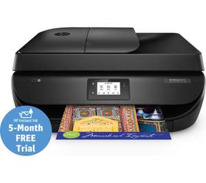 HP OfficeJet 4658 All-in-One Wireless Inkjet Printer with Fax + 5 Months FREE HP Instant Ink - £18.97 @ Currys (C&C Only)  **No Referrals**