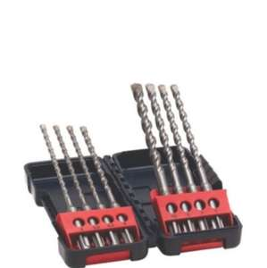 BOSCH MIXED SDS PLUS DRILL BIT SET, 8 PIECES was £21 now £5 @ B&Q