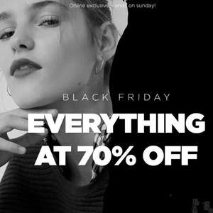 70% Off on everything at Mango outlet.