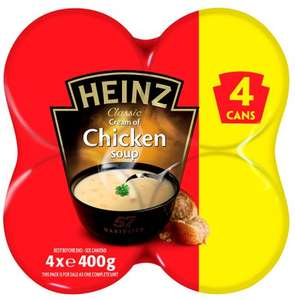 Heinz Classic 4 x 400g Chicken or 4 x Tomato Soups £1.99 @ Lidl were £3.29