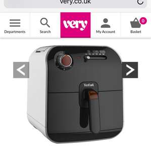 Tefal Fry Delight Health Fryer Was £159.99 Now £59.99 Save £100.00 @ very