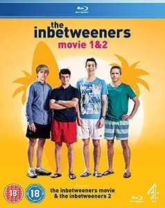 The Inbetweeners Movie 1 & 2 Boxset [Blu-ray] £8.99 (Prime) / £10.98 (non Prime) at Amazon