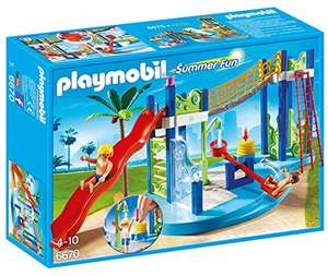 Playmobil 6670 Summer Fun Water Park Play Area at Amazon for £13.99 Prime (£16.98 non-Prime)
