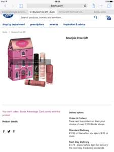 Free Gift Worth £30 with a £15 Spend on Bourjois Makeup at Boots