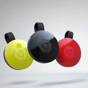 Google Chromecast - all colours £19 - 	google store