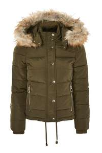 Topshop puffa reduced from 70 to £49
