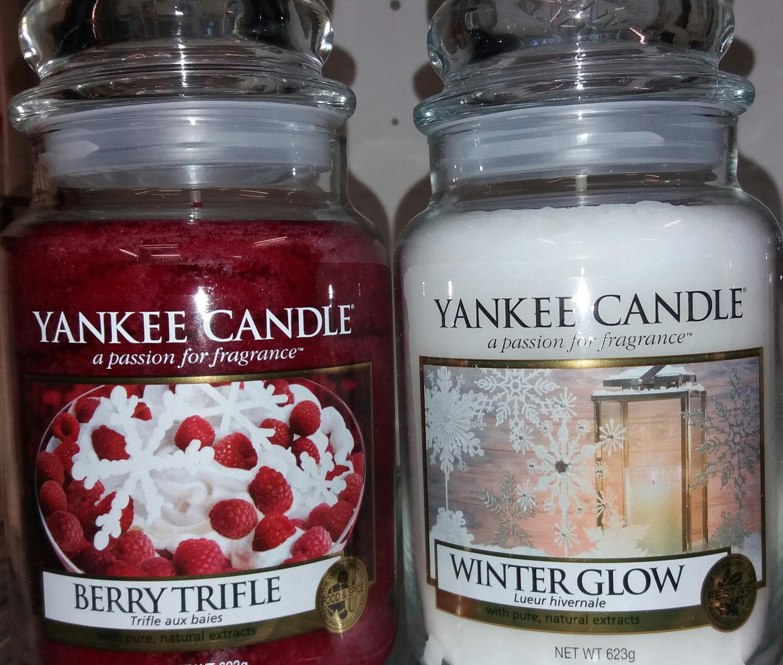 BOGOF Yankee Berry Trifle/Winter Glow Large & Medium Jars £15.99 @ Clintons