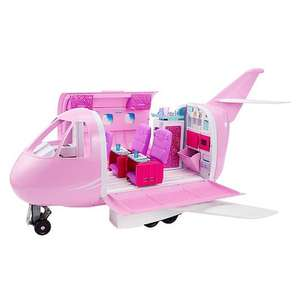 Barbie Pink Passport Glamour Vacation Jet - Half Price! £49.98 at toysrus