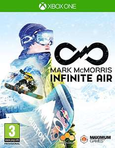 Mark McMorris Infinite Air (Xbox One) £6.49 (Prime) / £8.48 (non Prime)  Sold by GAME_Outlet and Fulfilled by Amazon.