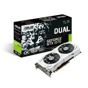 Asus GTX 1070 Dual OC Graphics Card - £349.99 at eBuyer